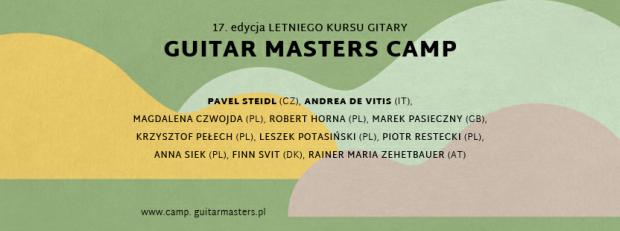 Weź udział w Guitar Masters Camp i wygraj gitarę!